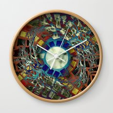 Mosaic Abstract 2 Wall Clock