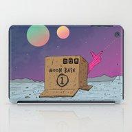 Moon Base iPad Case