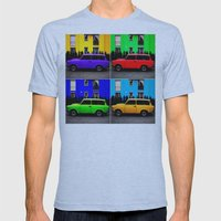 Eastern Germany Car - Trabant 601s Mens Fitted Tee Athletic Blue SMALL