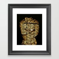 Affluenza Framed Art Print