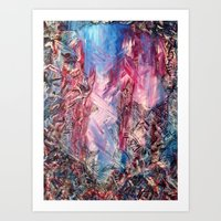 Meet In The Middle Art Print
