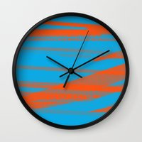 Digital Died/California Wall Clock