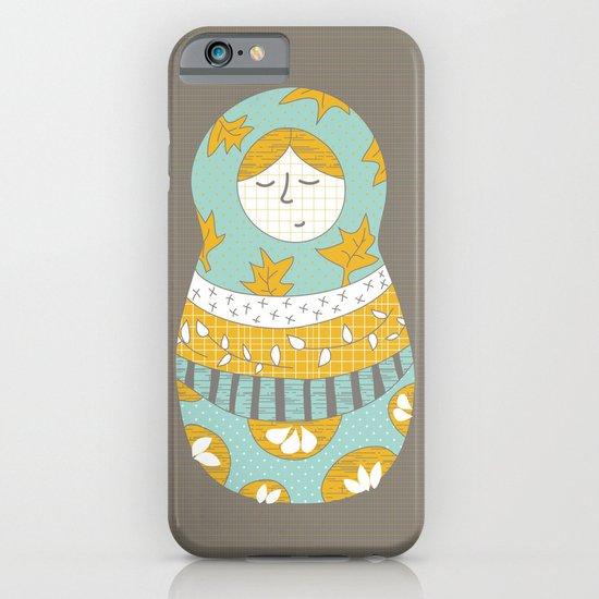 Autumnish mamushkas iPhone & iPod Case