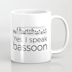 I Speak Bassoon Mug
