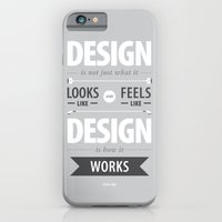 Design Is How It Works iPhone 6 Slim Case