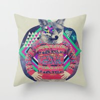 MCVII Throw Pillow
