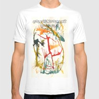 Contemporary Politics Mens Fitted Tee White SMALL