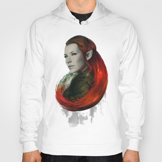 Head of Elven Hoody