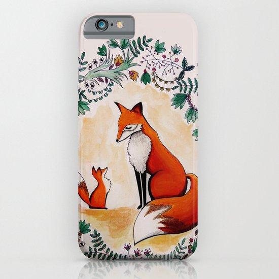 Fox season iPhone & iPod Case