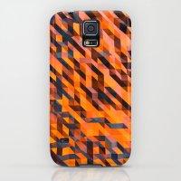 Galaxy S5 Cases featuring Lava by Felipebla Art