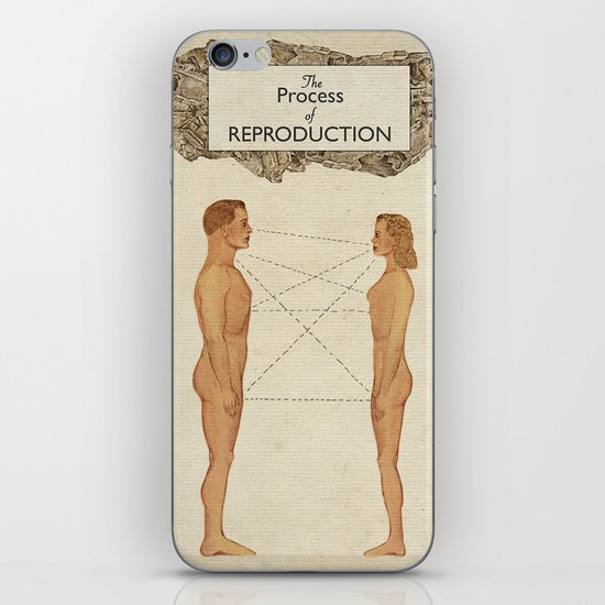 The Process of Reproduction I iPhone & iPod Skin