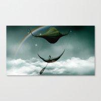 Sky Traveler Canvas Print