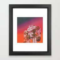 GO-BOT SUPERJAXXED (ever… Framed Art Print