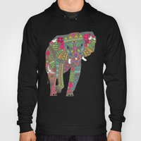 Painted Elephant Straw S… Hoody