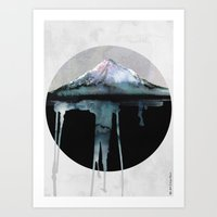 The Island | by Dylan Silva & Georgiana Paraschiv Art Print
