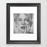 Léa Framed Art Print