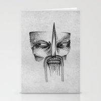 Mad Samurai Stationery Cards