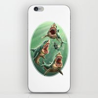 Great White Sharks #1 iPhone & iPod Skin