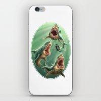 Great White Sharks #1 iPhone & iPod Skin