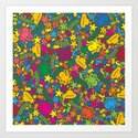 Under the Sea Scatter Art Print