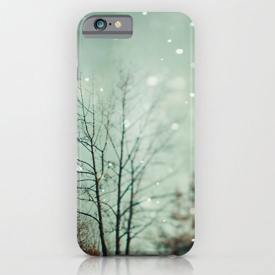 First Snowfall  iPhone & iPod Case