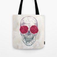 Skull & Roses Tote Bag