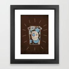 Dia de los muertos to takeout No.2 Framed Art Print