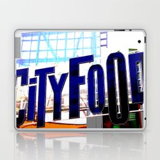 City Food Laptop & iPad Skin