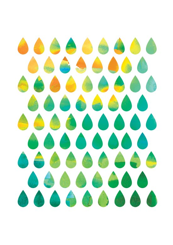 Monsoon Rain Art Print