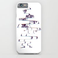 skeleton iPhone & iPod Cases featuring Skeleton by Ali GULEC