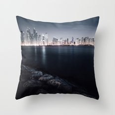 Dubai Night Throw Pillow