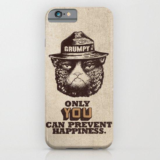 Grumpy PSA iPhone & iPod Case