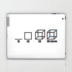 3D stereo Laptop & iPad Skin