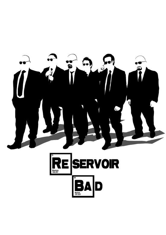 Reservoir Bad Art Print