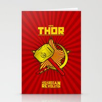 Asgardian Revolution: THOR Stationery Cards