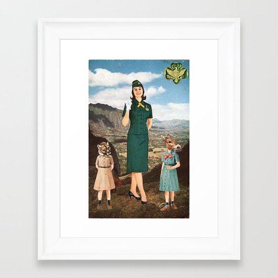 Girl Scouts of America Framed Art Print
