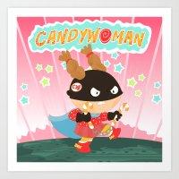 Candywoman Art Print