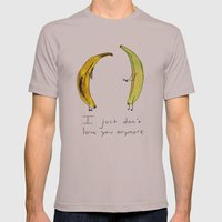 Banana Split Mens Fitted Tee Cinder SMALL