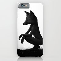 lady iPhone & iPod Cases featuring The Silent Wild by Ruben Ireland