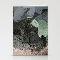 Patchwork Abstract  Stationery Cards