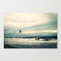 Happy New Year Canvas Print