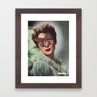 JEAN KENT.  (PIN-UPS). Framed Art Print