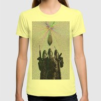 Soldier Womens Fitted Tee Lemon SMALL