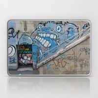 Grey Bear Graffiti Laptop & iPad Skin