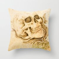 Skull4 Throw Pillow