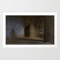The fortress of St Nicholas Art Print