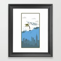 The Climes They Are A Ch… Framed Art Print