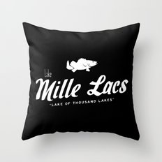 LAKE MILLE LACS Throw Pillow