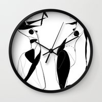 Fuck gravity - Emilie Record Wall Clock