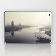 waiting in the fog Laptop & iPad Skin